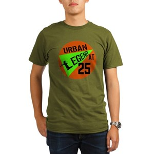 Funny 25th Birthday Mens Organic Classic T Shirts