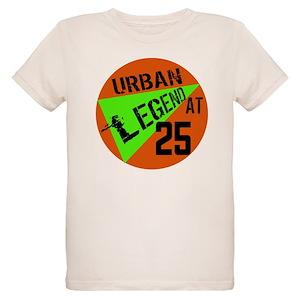 Funny 25th Birthday Organic Kids T Shirts