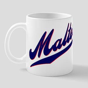 Maltese SCRIPT Mug