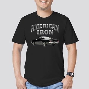 American Iron - Mustang Men's Fitted T-Shirt (dark