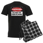 Do Not Try This Men's Dark Pajamas