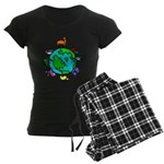 Animal Planet Rescue Women's Dark Pajamas