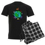 Animal Planet Rescue Men's Dark Pajamas