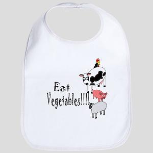 Eat Vegetables Bib