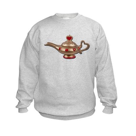 Genie Lamp Kids Sweatshirt