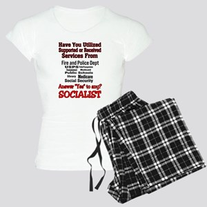 Ya Might Be a Socialist Women's Light Pajamas