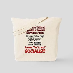 Ya Might Be a Socialist Tote Bag