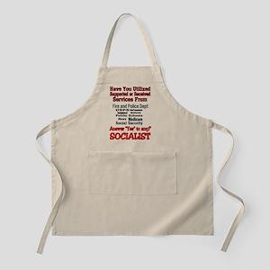 Ya Might Be a Socialist Apron