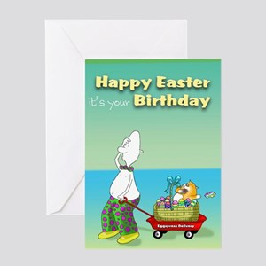 happy Easter/Birthday Greeting Card