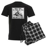 Don't Hangdog! Men's Dark Pajamas