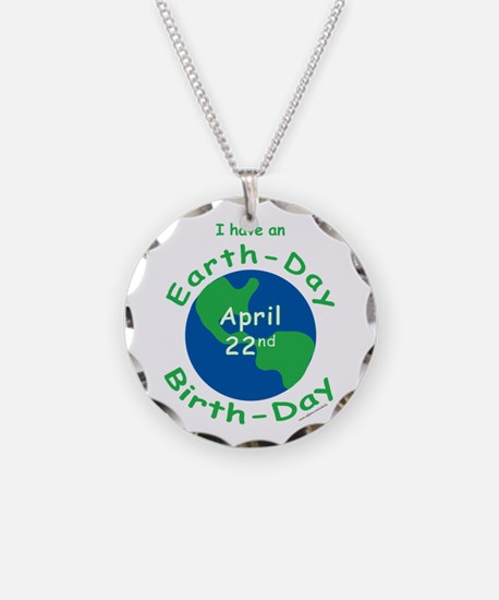 Earth Day Birthday Necklace