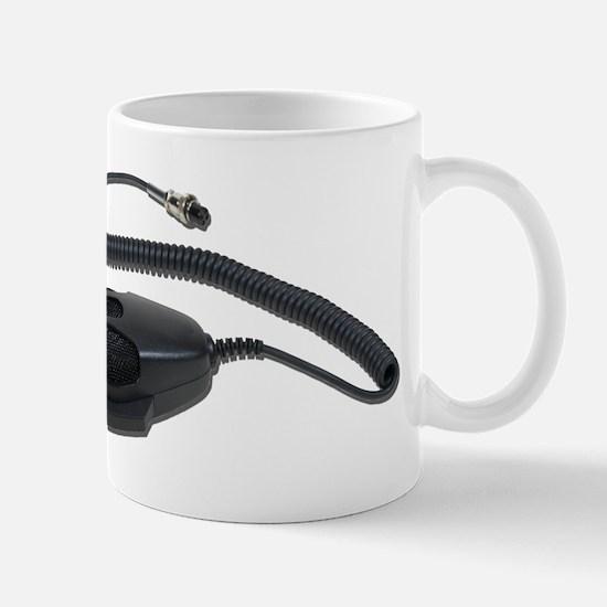 Hand Microphone Cable Mug