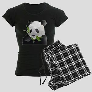 Panda Bear Women's Dark Pajamas