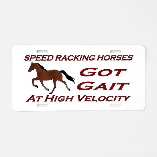 High Velocity Aluminum License Plate