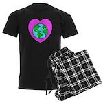 Love Our Planet Men's Dark Pajamas