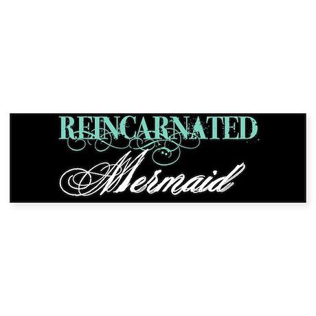 reinc mermaid Bumper Sticker