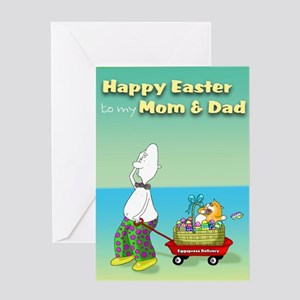 Happy Easter Mom & Dad Greeting Card