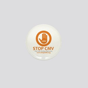 Stop CMV Logo Mini Button