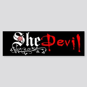 She Devil Bumper Sticker