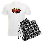 Chocolate Strawberry Men's Light Pajamas