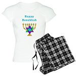 Happy Hanukkah Women's Light Pajamas