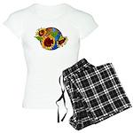 Sunflower Planet Women's Light Pajamas