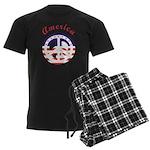 American Peace Men's Dark Pajamas