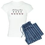 Proud Military Mom Women's Light Pajamas