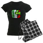 Irish Flag of Ireland Women's Dark Pajamas