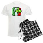 Irish Flag of Ireland Men's Light Pajamas