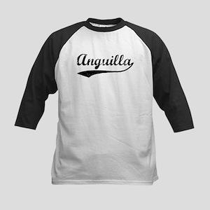Vintage Anguilla Kids Baseball Jersey