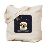 Labcutus of Dog Tote Bag