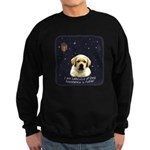 Labcutus of Dog Sweatshirt (dark)