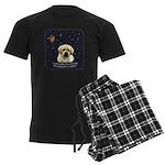 Labcutus of Dog Men's Dark Pajamas