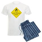 Sleep Deprived Parent Men's Light Pajamas