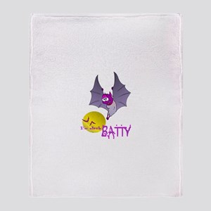 A little BATTY Throw Blanket