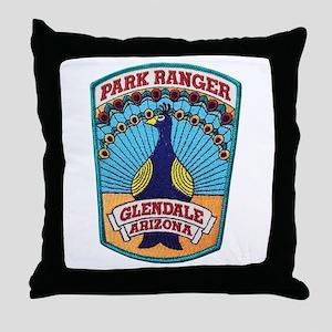 Glendale Park Ranger Throw Pillow