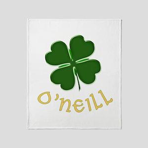 Irish O'Neill Throw Blanket