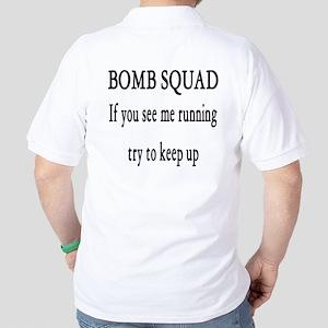 Bomb Squad Golf Shirt