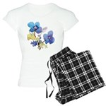 Watercolor Flowers Women's Light Pajamas
