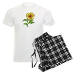 Sunflowers Men's Light Pajamas
