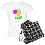 Cute Bouquet Women's Light Pajamas