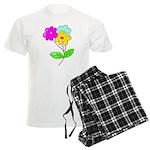 Cute Bouquet Men's Light Pajamas