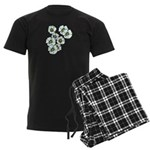 Blossoms Men's Dark Pajamas
