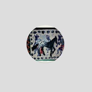 Equine Rescue Benefit Mini Button