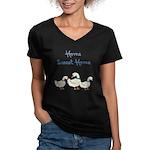Home Sweet Home Women's V-Neck Dark T-Shirt