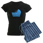 Baby Snooze Button Women's Dark Pajamas