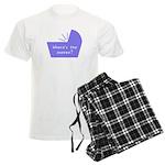 Baby Snooze Button Men's Light Pajamas
