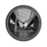 Twin Bridges Wall Clock