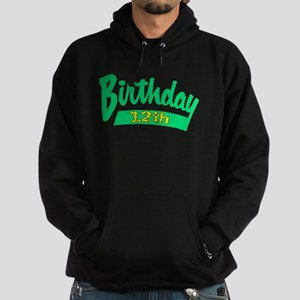12th Birthday Hoodie (dark)